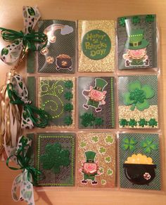 St. Patrick's Day Pocket Letter by First of Five Designs