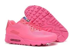 big sale 73749 0aea1 Nike Air Max 90 Hyperfuse Women All Pink Air Max 90   Cheap Nike shoes  online store uk, Cheap Nike shoes online store uk