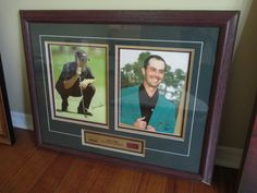 AUTOGRAPHED MIKE WEIR MASTERS CHAMPION FRAME Visit www.sellmystuffcanada.com for more great photos of eclectic estate sale items!