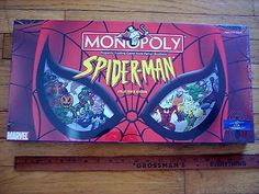 cool NEW in BOX SEALED Monopoly Marvel SPIDER-MAN Family Board Game Collectors Ed '04 - For Sale Check more at http://shipperscentral.com/wp/product/new-in-box-sealed-monopoly-marvel-spider-man-family-board-game-collectors-ed-04-for-sale/