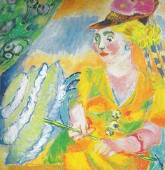 Выставка работ художника Татьяны Алексеевны Мавриной (Лебедевой) (1900 — 1996)