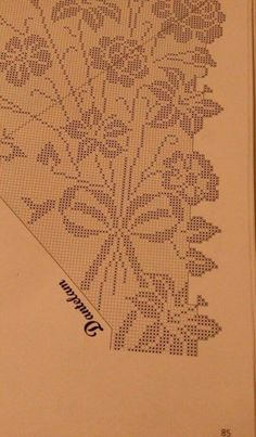 This Pin was discovered by Фил Filet Crochet Charts, Crochet Cross, Crochet Art, Crochet Shawl, Crochet Doilies, Crochet Stitches, Crochet Tablecloth Pattern, Crochet Curtains, Cross Stitch Embroidery