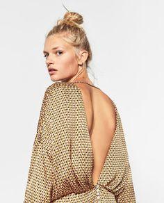 Zara Printed Dress $50
