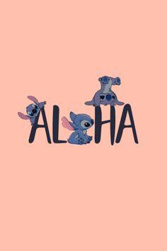 Cartoon Wallpaper Iphone, Disney Phone Wallpaper, Aesthetic Iphone Wallpaper, Aesthetic Wallpapers, Kawaii Disney, Disney Olaf, Cute Stitch, Lilo And Stitch, Tumblr Yellow