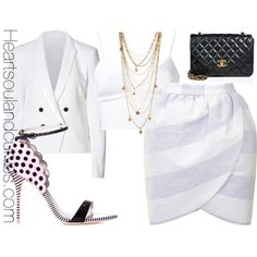 """Memorial Weekend 2014 (Look 2)"" by adoremycurves on Polyvore"