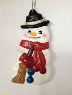 Kerstboomhangers sneeuwman
