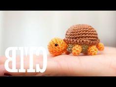 Amigurumi | Como hacer una Tortuga en Crochet | Bibiana Mejia Crochet 2016 - YouTube