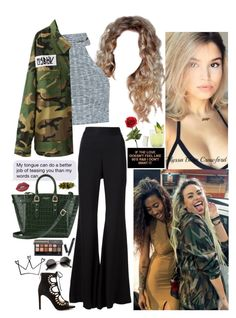 """""""If you wanna stay, we're taking it slow baby. Cause you & me, & I got enough on my mind."""" by allie-blair ❤ liked on Polyvore featuring Lime Crime, Aspinal of London, E L L E R Y, Escalier, BCBGeneration, Citron and ZeroUV"""