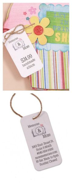 """It takes time to create beautiful goods to sell. The Seals-Tag 1 1/2"""" x 3"""" Pinnovation die makes it easy to create custom tags to attach to items or packaging. http://www.accucutcraft.com/seals-tag-1-1-2-x-3-pinnovation.html"""