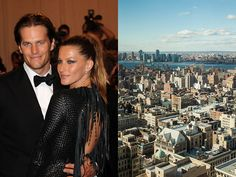 On Top of the World - Tom Brady and Gisele Bundchen's NYC Apartment  - Photos  Bought a home in Tribeca