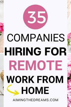 35 non-phone work from home jobs hiring now. Non-phone work from home jobs is not very difficult to find in this digital world. With some experience and attention, you will be able to make a good income from home. #nonphoneworkfromhomejobs #nonphinejobs #parttimejobs #workfromhome #onlinejobsfromhome Online Jobs From Home, Work From Home Jobs, Make Money From Home, How To Make Money, Companies Hiring, Phone Companies, Jobs Hiring, Virtual Assistant Jobs, Hiring Now