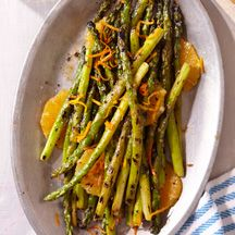 Grilled Asparagus With Orange Butter