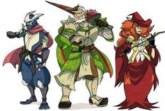 Holy crap!!! I could think up a whole story of these characters.  Who ever drew this is amazing!