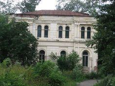 Overgrown Merchant mansion, Tomsk .JPG