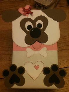 puppy valentines boxes for girls diy * puppy valentines boxes for girls diy Puppy Valentines, Kinder Valentines, Valentines Day Party, Valentine Day Crafts, Printable Valentine, Homemade Valentines, Valentine Wreath, Valentine Ideas, Valentinstag Party