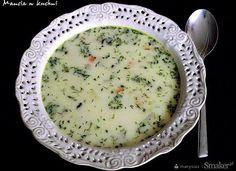 Zupa koperkowa z warzywami i czosnkiem - Przepis - Smaker.pl