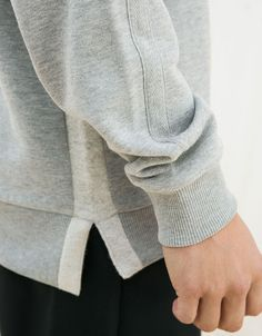 Suéter adereços texto - New - Bershka Portugal