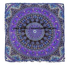 Indian-Square-Mandala-Floor-Pillow-Case-Boho-Throw-Cushion-Ottoman-Pouf-Dog-Bed