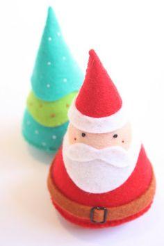 Woodland Christmas decorations by Ricrac