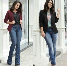 Blazers, Overalls, Women's Fashion, Jeans, Outfits, Sacks, Fashion Women, Suits, Blazer