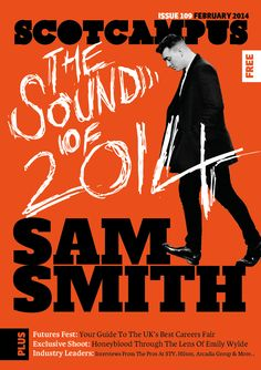 New cover for Scotcampus featuring Sam Smith.