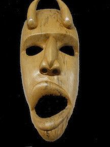 Horn Mask http://medicinemancrafts.com/collections/masks/products/horn-mask