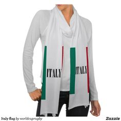 Italy flag scarves