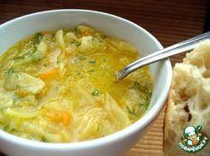 Луковый суп с капустой (добавить куриное мясо)