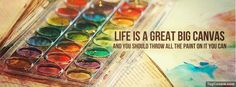 colorful fb cover photos with quotes - Google Search