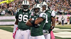 Darrelle Revis, #24 for the New York Jets, is a leading candidate for 2011-2012 NFL Defensive Player of the Year.  His chances may depend on his team's overall success.
