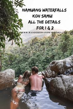 One of our favourite days on the island was visiting Namuang Waterfalls Koh Samui. Not to be missed - here's all the info for the Koh Samui waterfalls. Thailand Travel, Asia Travel, Travel Tips, Travel Plan, Thailand Honeymoon, Bangkok Itinerary, Vietnam, Thailand Elephants, Khao Lak