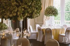 Ashfield house exclusive wedding venue. Dressed by red floral architecture