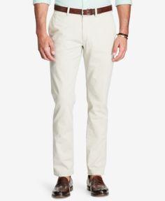 Polo Ralph Lauren Men's Slim-Fit Chino Pants - Beige Khaki 31x30