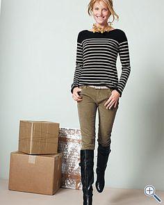 Garnet Hill - fall outfit