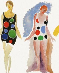 #illustration #dressai | Sonia Delaunay