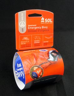 sol emergency bivi- reusable and more durable than a conventional emergency blanket