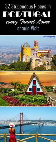 32 Stupendous Places in Portugal every Travel Lover should Visit #Portugal #Travel #Portugaltravel