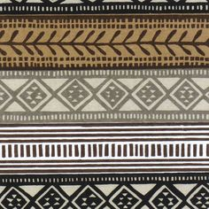 Kudhinda Zimbabwe Screen Prints Margie Stripe Charcoal