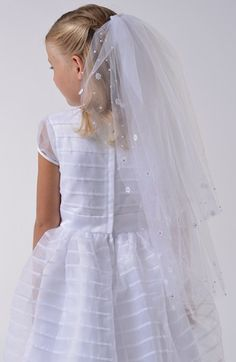 Us Angels Communion Veil available at #Nordstrom