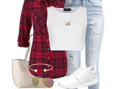 Dieses coole Outfit ist perfekt für lässige Schultage ♥