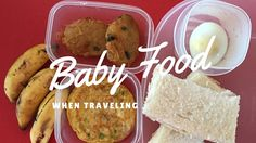 Baby Food when Traveling