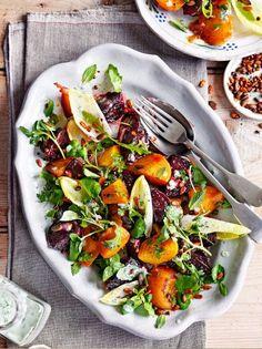 Candied Beetroot Salad | Vegetable Recipes | Jamie Oliver