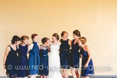 Nicole's friend's bridesmaid dresses