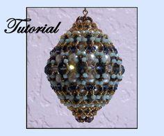 Charlene Beaded Christmas Ornament Pattern   Bead-Patterns.com