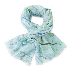 Marble Print Scarf—Blue at Indigo for Spring Pattern Paper, Paper Patterns, Soft Colors, Colours, Handmade Scarves, Marble Print, Spring Colors, Gifts For Mom, Indigo