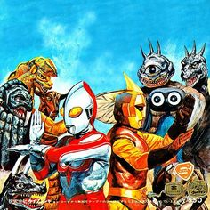 Ultraman Jack and Spectorman