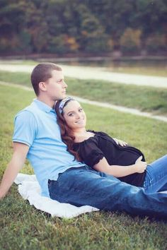 Maternity pic, me & my husband. Photo credit katie main