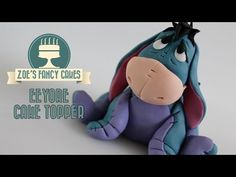 Winnie the Pooh: Eeyore cake model tutorial - YouTube