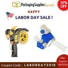 Grab this deal before it's too late ‼️ 10% OFF + Free Shipping ✈️ 🛍️Use coupon: LABORDAY2018🛍️ Offer Expires 9/9/2018 Shop Now: https://www.packagingsuppliesbymail.com/ #Packaging #Shipping #Industrial #Medical #Coupon #Onlineshopping #Onlinecoupons #discountcoupon #promocodes #freeshipping