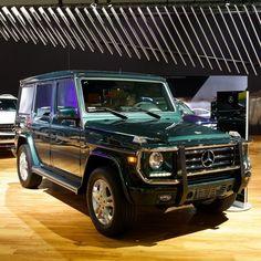 Green giant. #Mercedes #Benz #G550 #instacar #carsofinstagram #germancars #luxury